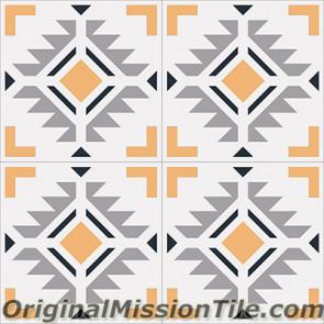 Original Mission Tile Cement Encanto Cean 05 - 8 x 8