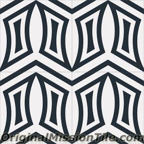 Original Mission Tile Cement Encanto Luciana 01 - 8 x 8