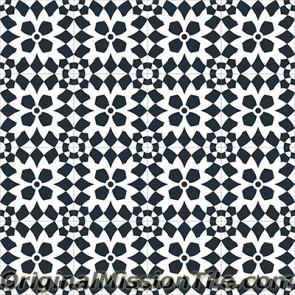 Original Mission Tile Cement Encanto Luisa 01 - 8 x 8