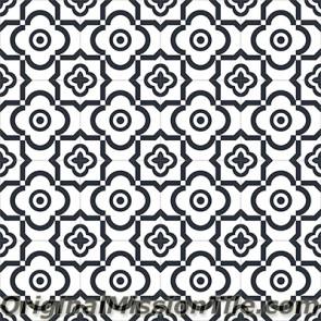 Original Mission Tile Cement Encanto Marci 01 - 8 x 8