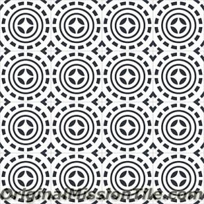 Original Mission Tile Cement Encanto Pasquale 01 - 8 x 8