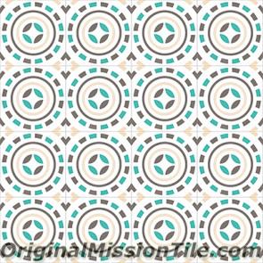 Original Mission Tile Cement Encanto Pasquale 06 - 8 x 8