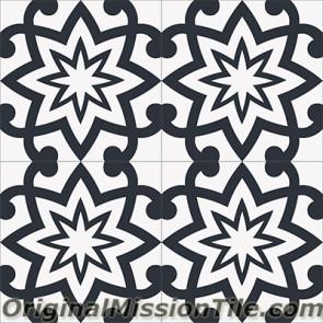 Original Mission Tile Cement Encanto Patrice 01 - 8 x 8