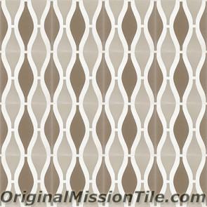 Original Mission Tile Cement Oceana Sea Breeze 02 - 8 x 8