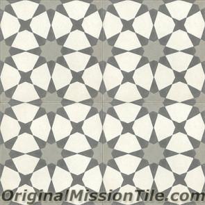 Original Mission Tile Cement Moroccan Agadir 01 - 8 x 8