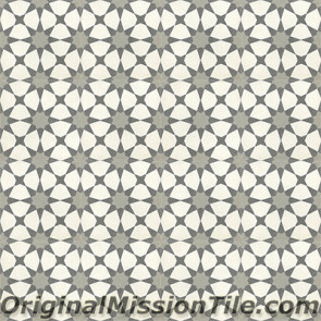 Original Mission Tile Cement Moroccan Agadir 01 - 8 x 8
