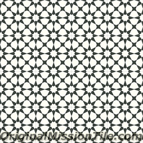Original Mission Tile Cement Contemporary Agadir 02 - 8 x 8