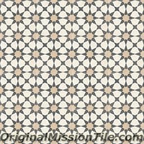 Original Mission Tile Cement Terrazzo Agadir - 8 x 8
