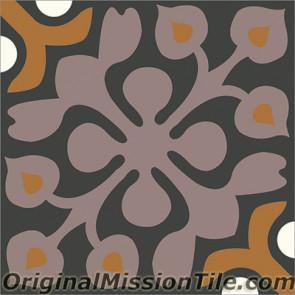 Original Mission Tile Cement Classic Alice 01 - 8 x 8
