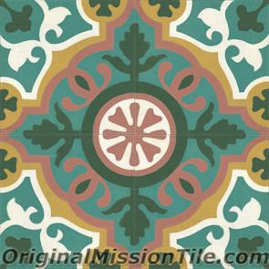 Original Mission Tile Cement Classic Amalia - 8 x 8