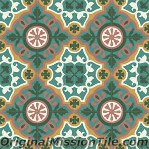 Original Mission Tile Cement Classic Amalia - 8 x 8
