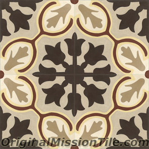 Original Mission Tile Cement Classic Avallon - 8 x 8