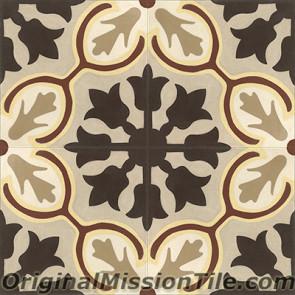 Original Mission Tile Cement Classic Avallon - 8 x 8