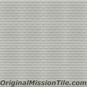 Original Mission Tile Cement Relief Bricks - 8 x 8