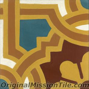 Original Mission Tile Cement Classic Capri - 8 x 8