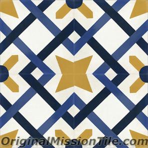 Original Mission Tile Cement Classic Cordoba 01 - 8 x 8
