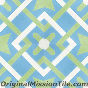Original Mission Tile Cement Classic Cordoba 02 - 8 x 8