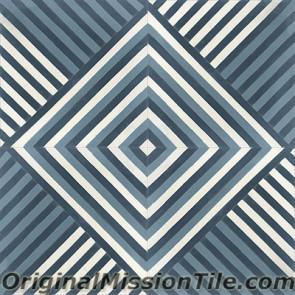 Original Mission Tile Cement Lee Ellis 03 - 8 x 8