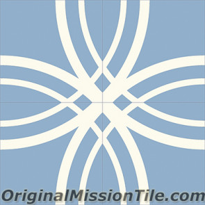 Original Mission Tile Cement Classic Ferrara 04 - 8 x 8