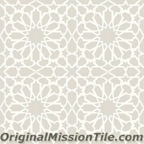 Original Mission Tile Cement Contemporary Fes 02 - 8 x 8