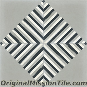 Original Mission Tile Cement Lee Frank 03 - 8 x 8