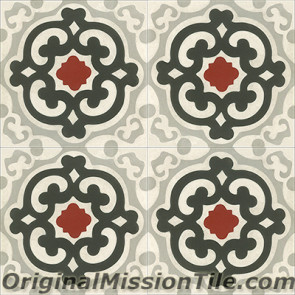 Original Mission Tile Cement Classic Geneva - 8 x 8