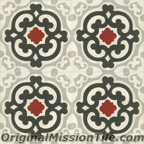 Original Mission Tile Cement Classic Geneva - 8 x 8
