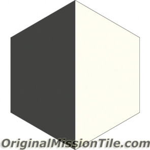 Original Mission Tile Cement Hexagonal April 02 - 8 x 8