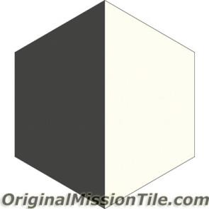 Original Mission Tile Cement Hexagonal April 02 - 8 x 8