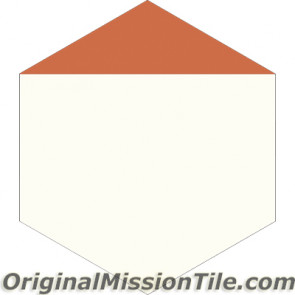 Original Mission Tile Cement Hexagonal Clip - 8 x 8