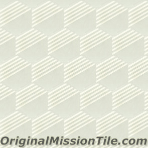 Original Mission Tile Cement Lee Hexagonal Dale 02 - 8 x 8