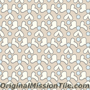 Original Mission Tile Cement Hexagonal Elba 02 - 8 x 8