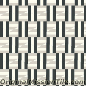 Original Mission Tile Cement Lee Hexagonal Kelly 07 - 8 x 8