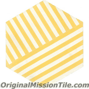 Original Mission Tile Cement Lee Hexagonal LeWitt 05 - 8 x 8