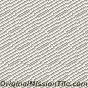 Original Mission Tile Cement Lee Hexagonal Martin 07 - 8 x 8