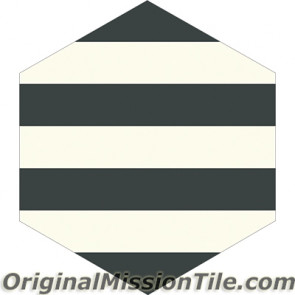 Original Mission Tile Cement Lee Hexagonal Ruth 01 - 8 x 8