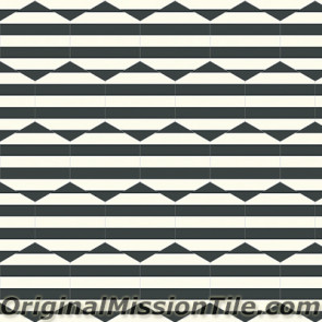 Original Mission Tile Cement Lee Hexagonal Ruth 01 - 8 x 8