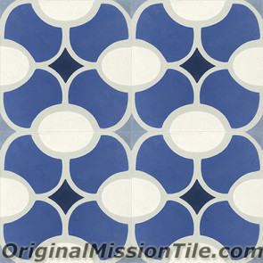 Original Mission Tile Cement Classic Jolla 02 - 8 x 8