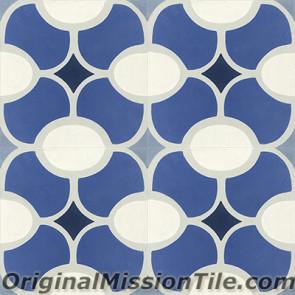 Original Mission Tile Cement Classic Jolla 02 - 8 x 8
