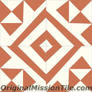 Original Mission Tile Cement Lee Kit 04 - 8 x 8
