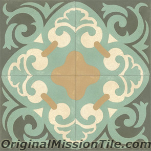Original Mission Tile Cement Classic La Espanola 01 - 8 x 8