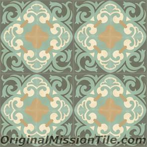 Original Mission Tile Cement Classic La Espanola 01 - 8 x 8