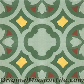 Original Mission Tile Cement Classic Laredo - 8 x 8
