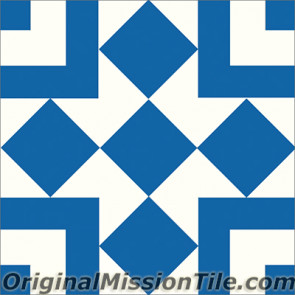 Original Mission Tile Cement Classic Liverpool II 03 - 8 x 8