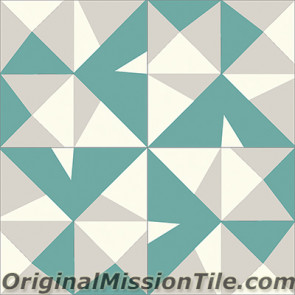 Original Mission Tile Cement Lee Max 02 - 8 x 8