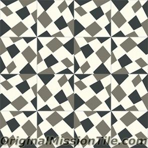 Original Mission Tile Cement Lee Mike 01 - 8 x 8