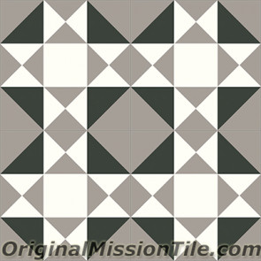 Original Mission Tile Cement Contemporary New Jersey 03 - 8 x 8