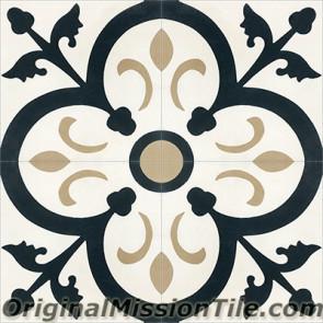 Original Mission Tile Cement Classic Orleans 01 - 8 x 8