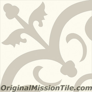 Original Mission Tile Cement Contemporary Orleans 03 - 8 x 8
