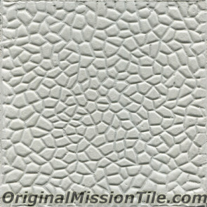 Original Mission Tile Cement Relief Panal - 8 x 8